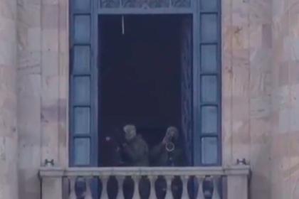 На митинге армянской оппозиции заметили снайперов