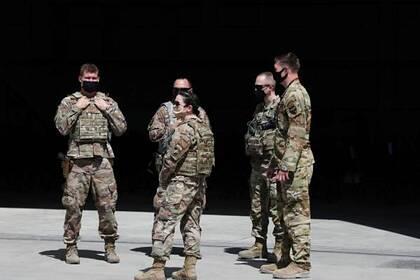 Военные США в Кабуле, Афганистан