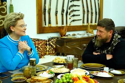 Малышева встретилась с Кадыровым
