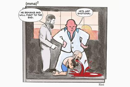 Кадыров стал героем карикатуры после попытки вернуть в MMA Нового Хабиба