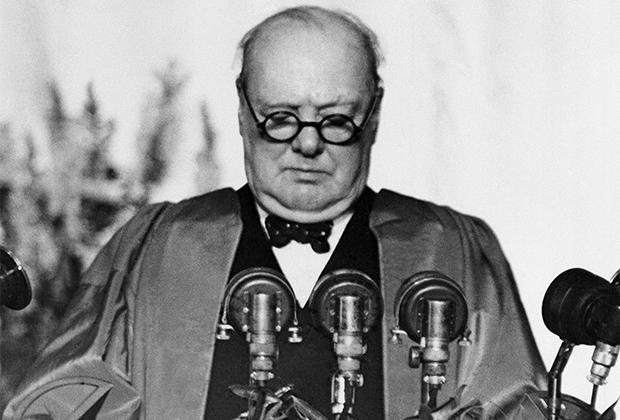 Выступление Уинстона Черчилля в Фултоне