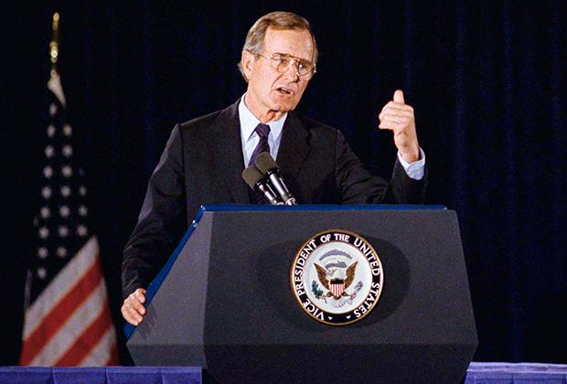 Джордж Буш (архивное фото)