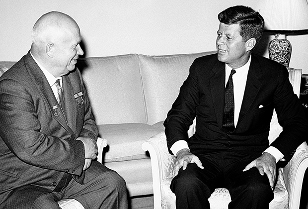 Переговоры Хрущева и Кеннеди в Вене в 1961 году