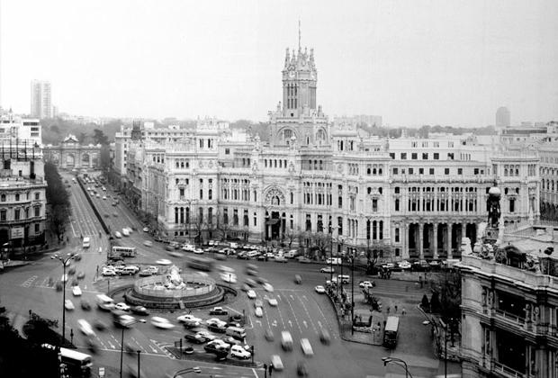 В центре Мадрида