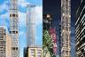 """Еще один проект высотного строительства архитекторы из британского бюро Foster + Partners реализуют в канадском Торонто. Дизайнеры придумали 306-метровый небоскреб The One, который после открытия в 2023 году будет считаться самым высоким зданием страны. С 1976 года этот титул носит 298-метровый небоскреб First Canadian Place.<br><br>The One появится на перекрестке улиц Блур и Йондж и впишется в городской пейзаж. По предположениям архитекторов, небоскреб <a href=""""https://www.dezeen.com/2017/10/10/foster-partners-the-one-supertall-skyscraper-tallest-building-toronto-canada/"""" target=""""_blank"""">станет</a> завершающим элементом «мозаики» района. Для здания прямоугольной формы выбрали светлые панели, на которых разместят горизонтальные и вертикальные бронзовые балки цвета шампанского. Элементы подчеркнут разделение на этажи и вытянут силуэт небоскреба. В The One оборудуют 560 апартаментов, включая двухуровневые пентхаусы с видом на озеро Онтарио, а также спа-салон, библиотеку, фитнес-центр, магазины и рестораны."""