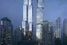 """Архитектор Фрэнк Гери (Frank Gehry), прославившийся на весь мир такими дерзкими и необычными проектами, как «танцующий дом» в Праге и Музей Гуггенхайма в Бильбао, добрался до родного Торонто в Канаде. В 2012 году он придумал для города комплекс из трех небоскребов, но через некоторое время отказался от одной из башен, решив сделать выше оставшиеся две. Небоскребы появятся на улице Кинг-стрит. Один из них достигнет в высоту 298, а другой — 262 метра. Сроки завершения работы неизвестны.<br><br>Конструкция будет напоминать наложенные друг на друга в хаотичном порядке параллелепипеды разной формы. Часть фасада <a href=""""https://www.dezeen.com/2021/02/15/frank-gehry-project-supertall-skyscraper-toronto/"""" target=""""_blank"""">сделают</a> из гладкого стекла, а другую — из металла с мерцающим эффектом. По словам Гери, он хотел подчеркнуть индивидуальность каждой башни, но при этом создать ощущение, что они «разговаривают друг с другом». Особенность небоскребов — внешний вид. Он меняется в зависимости от ракурса. Помещения внутри отдадут под жилые апартаменты, отель, художественную галерею и кампус крупнейшего в Канаде университета искусства и дизайна OCAD."""