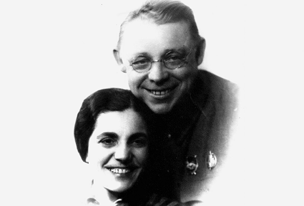 Елизавета и Василий Зарубины