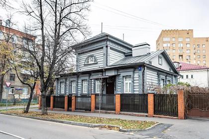 Уникальный дом выставили на продажу в Москве