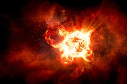 Раскрыта загадка затухания супергигантской звезды