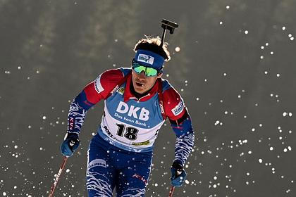 Российские биатлонисты выиграли серебро в эстафете на Кубке мира