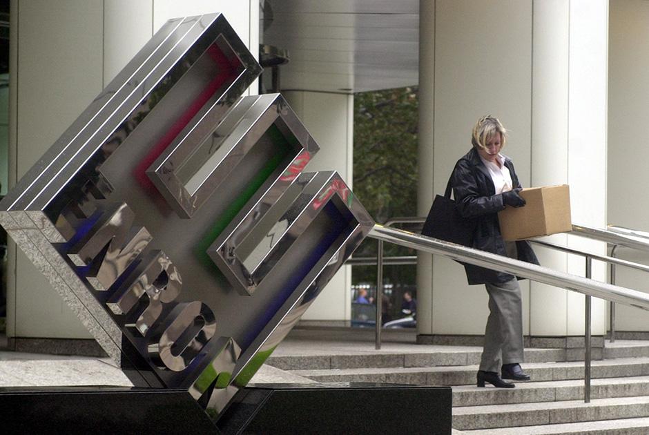 Головной офис Enron