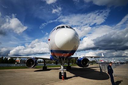 Российский самолет Ту-214ОН проверил маскировку военных объектов