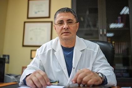 Доктор Мясников рассказал об опоясывающем его лишае