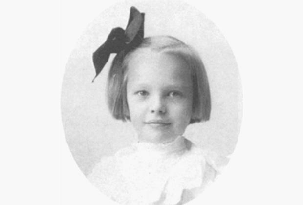 Амелия Эрхарт в детстве