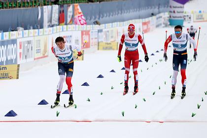 Большунов расплакался после поражения норвежцам в марафоне на чемпионате мира