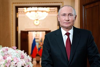 Президент России поздравил всех женщин с 8 Марта