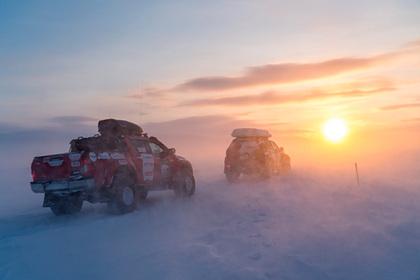 Автомобильная экспедиция впервые добралась до Новосибирских островов