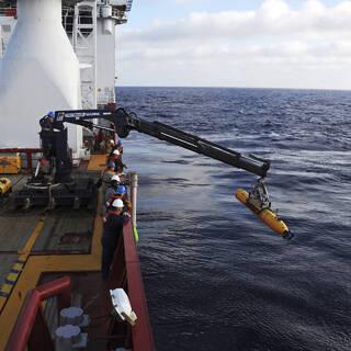 Поисковая операция в Индийском океане