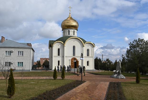 Православная церковь в храмовом комплексе