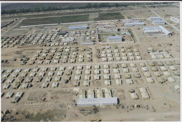 Первый палаточный лагерь бригады, 2000 год