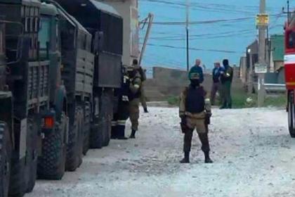 Раскрыты подробности контртеррористической операции в Махачкале
