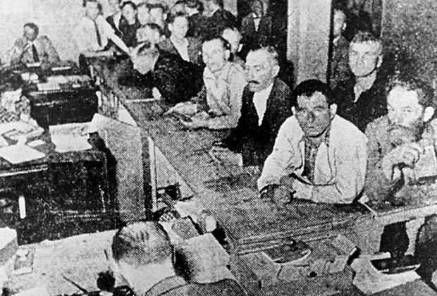 Биржа труда в Латвии, 1925 год