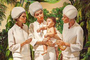 Allegoria Sacra. Ангелы и дитя, 2020 год