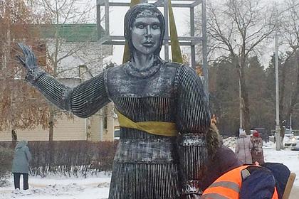 Неизвестный установит в российском городе новую «Аленку»