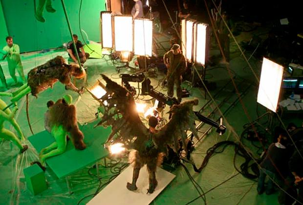 Съемки фильма «Вий 3D»