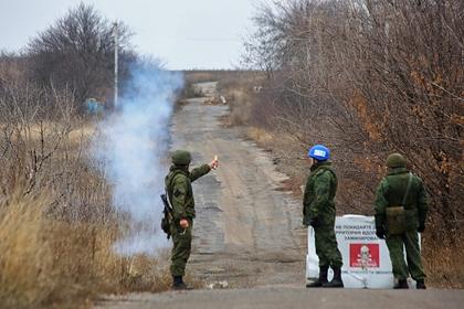 Военные ЛНР сбили украинский беспилотник
