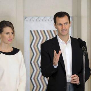 Асма и Башар Асад