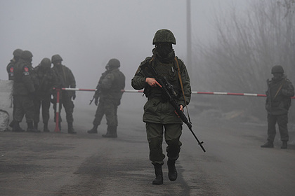 Сотрудники военной комендатуры ДНР