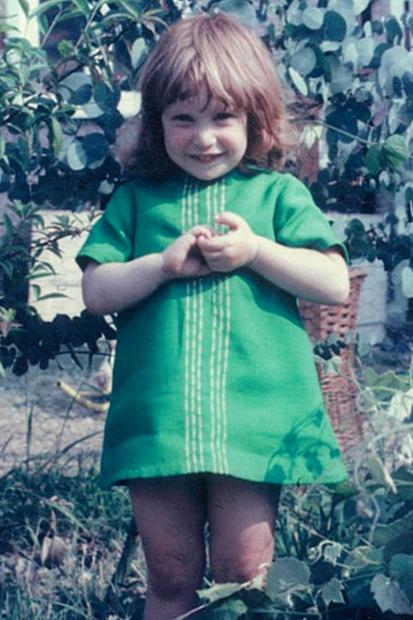 Четырехлетняя Джени Хейнс в Лондоне