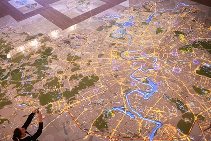 В России создадут трехмерную карту страны