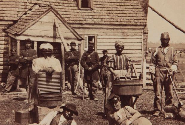 Невольники в США в 1852 году