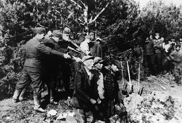 Расстрел литовских партизан, Каунас, 1941 год