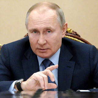 Vladimir Putin, prezident Ruskej federácie