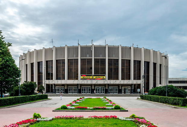 Дворец спорта «Юбилейный» (Санкт-Петербург), где был убит Игорь Тальков