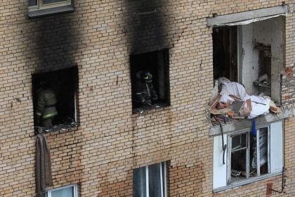 Стало известно о первых пострадавших после взрыва в жилом доме в Подмосковье