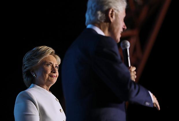 Билл Клинтон во время одной из своих лекций