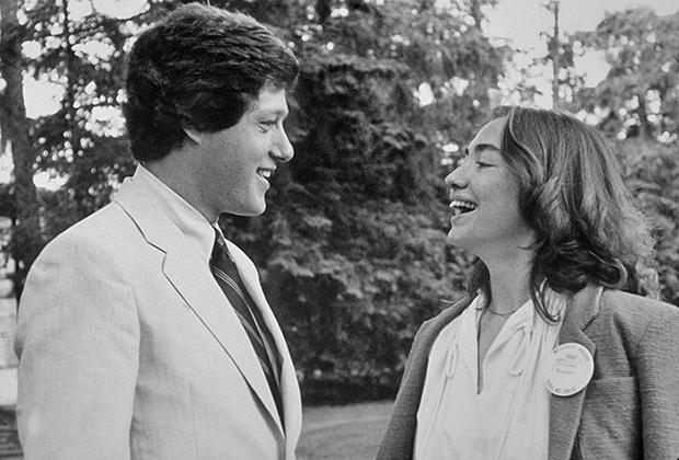 Билл и Хиллари Клинтон в Йельской школе права, 1979 год