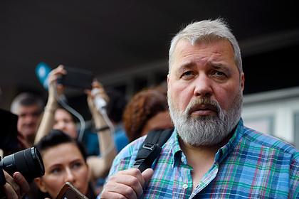 Главный редактор «Новой газеты» Дмитрий Муратов