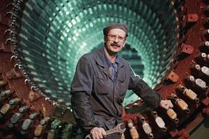 Передовой обмотчик, ударник коммунистического труда Юрий Павлович Сторожев. 1966 год.