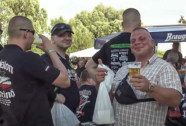 Неонацистский фестиваль в Темаре