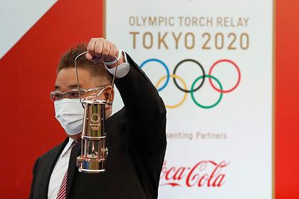 Факел погас во второй раз за два дня эстафеты олимпийского огня в Японии