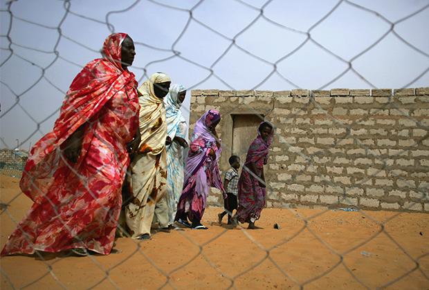 Освобожденные рабы в Мавритании, 2006 год