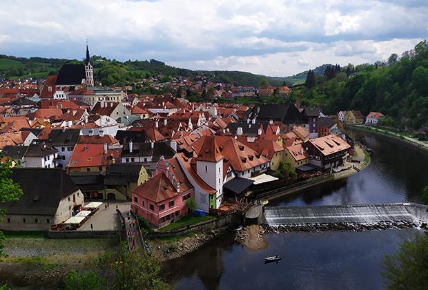 Центр города Чески-Крумлов внесен в список всемирного наследия ЮНЕСКО