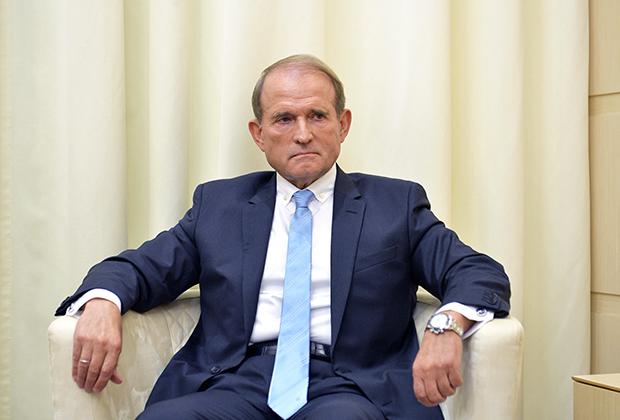 Председатель политсовета украинской партии «Оппозиционная платформа — За жизнь» Виктор Медведчук