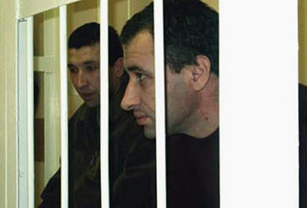 Братья Валерий (справа) и Дмитрий Вобликовы в зале суда