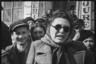 Жители города встречают советских солдат. Ботошани, Румыния. Апрель 1944 года.